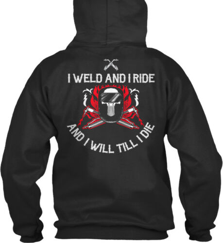 I Till Capuche Welder Weld 185 S Confortable Ride Will Die À Eu Sweat And R7qR86Wtr
