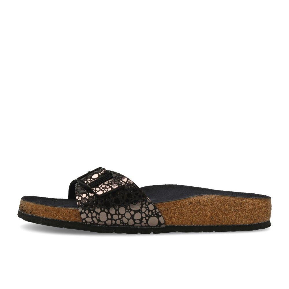 Birkenstock Madrid BF Metallic Stones Black Schuhe Sandalen Pantoletten Schwarz
