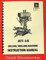 15 Drill Mill Parts Manual. Asian Complex, Enco, Msc 0775