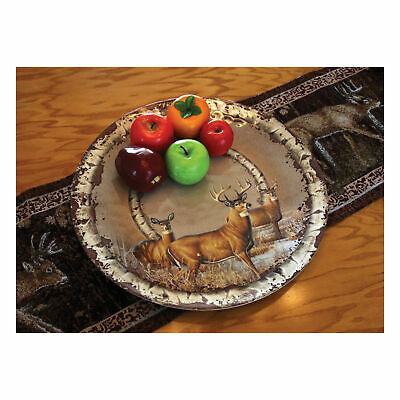 Deer River/'s Edge Products Bowl Round Melamine 13.5in