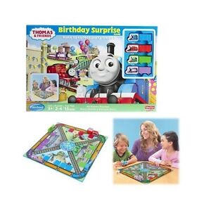 FISHER-PRICE-THOMAS-amp-FRIENDS-R3195-BIRTHDAY-SURPRISE-GAME-NEU-OVP