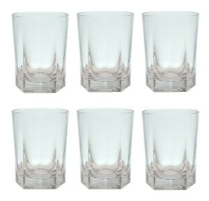Image Is Loading Qg 14 Oz Clear Acrylic Plastic Drinking Rock