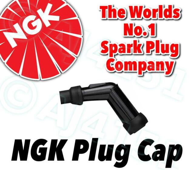 NEW NGK Spark Plug Cap / Cover / Boot VD05F (Black) 120º With Resistor No. 8052