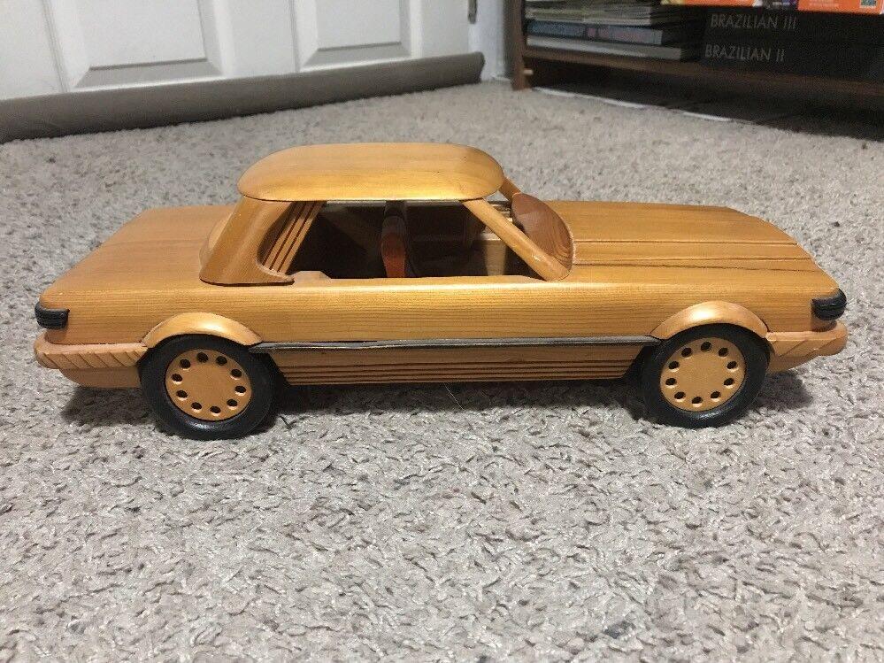 Rare MERCEDES BENZ SEDAN Wooden  MODEL CAR By Albert E Price