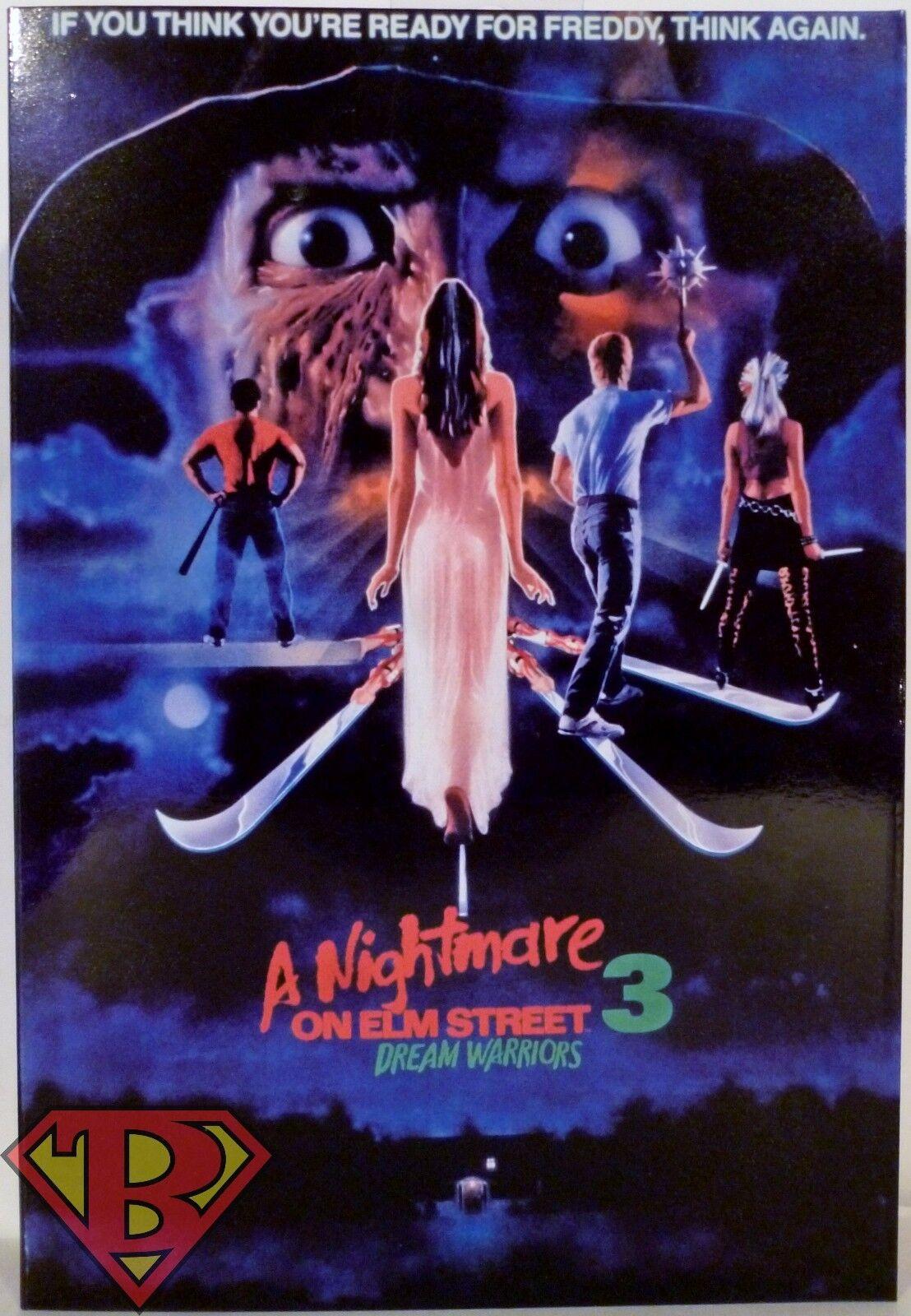Ultimate Frojody Krueger Pesadilla en en Elm Street 3 7  pulgadas figura de acción 2016  salida para la venta
