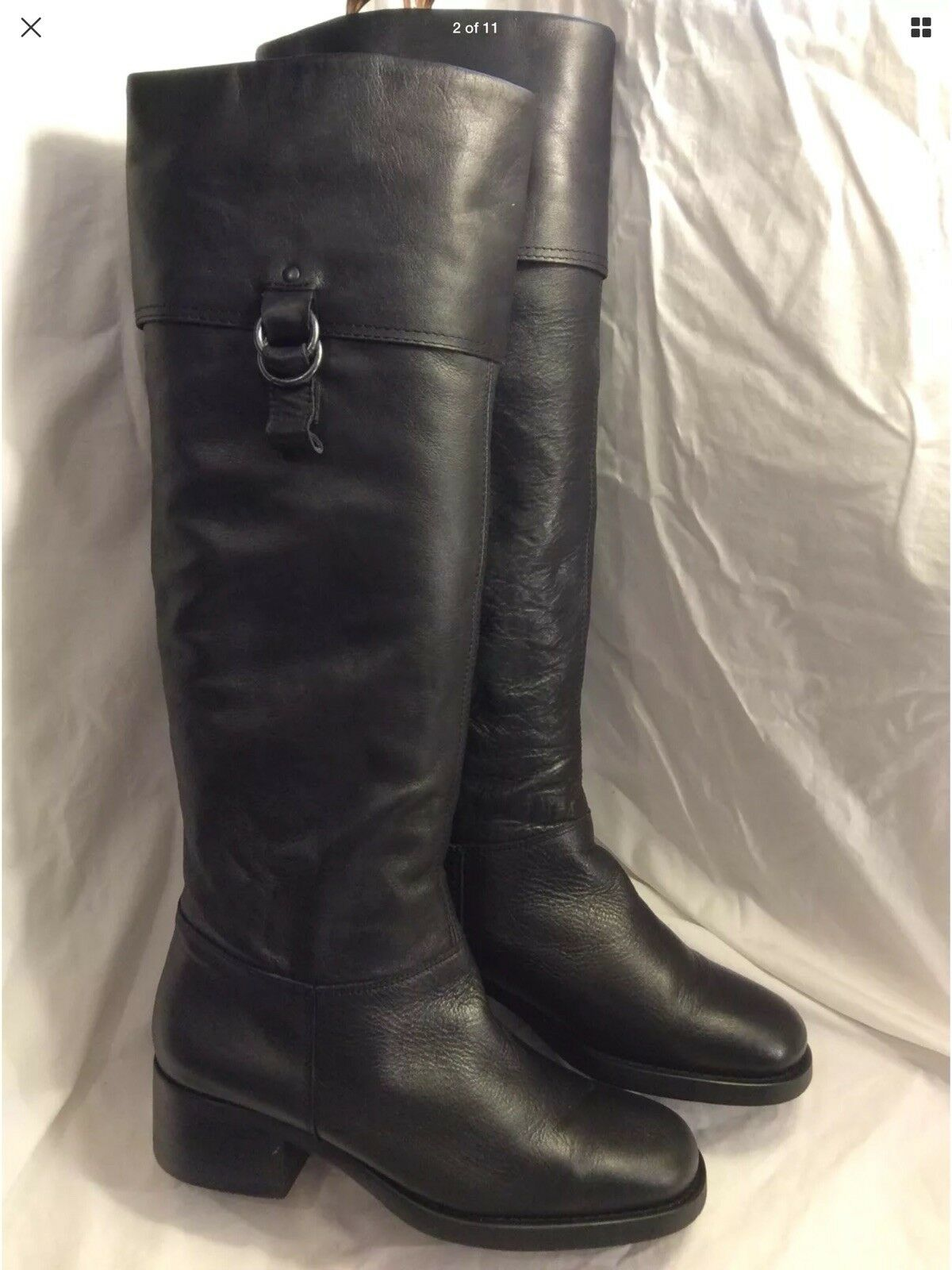 Ladies Leather Over Knee Boots Size 40