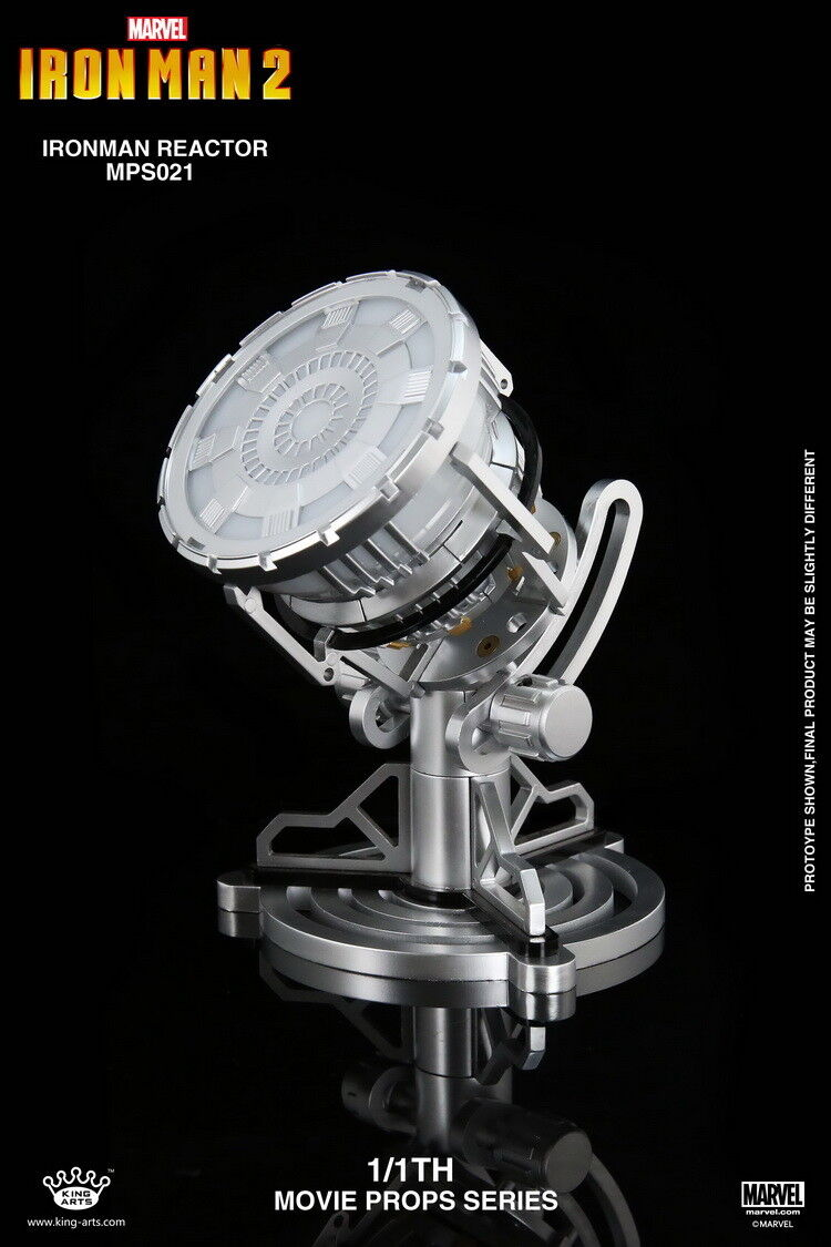 King Arts 1 1th Movie Props Series Iron Man 2  Alloy Reactor MPS021  magasin en ligne