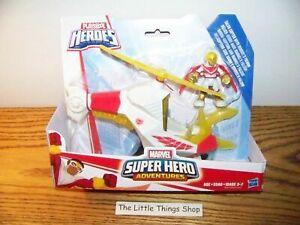 Playskool Heroes Marvel Super Hero Adventures TALON COPTER with MARVEL/'S FALCON