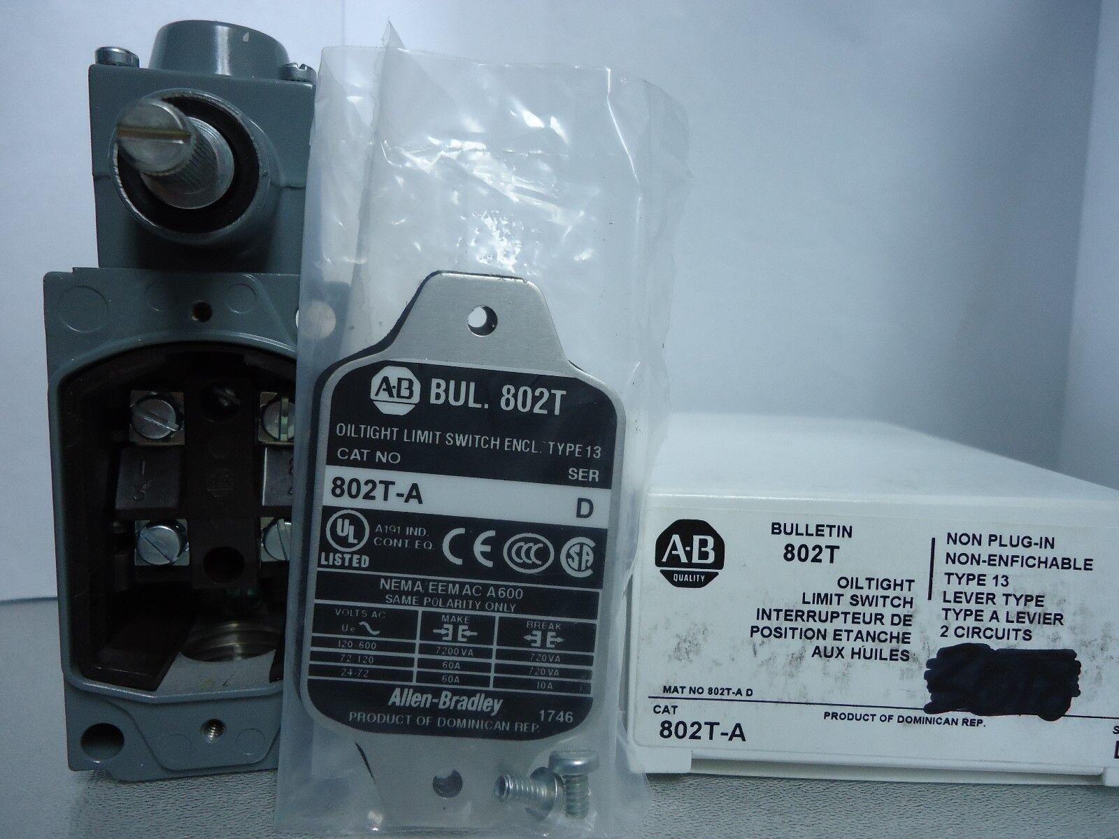 802t Limit Switch Wiring Wire Center Allen Bradley Diagram A 802ta Oiltight Series D Ebay Rh Com Ap Switches