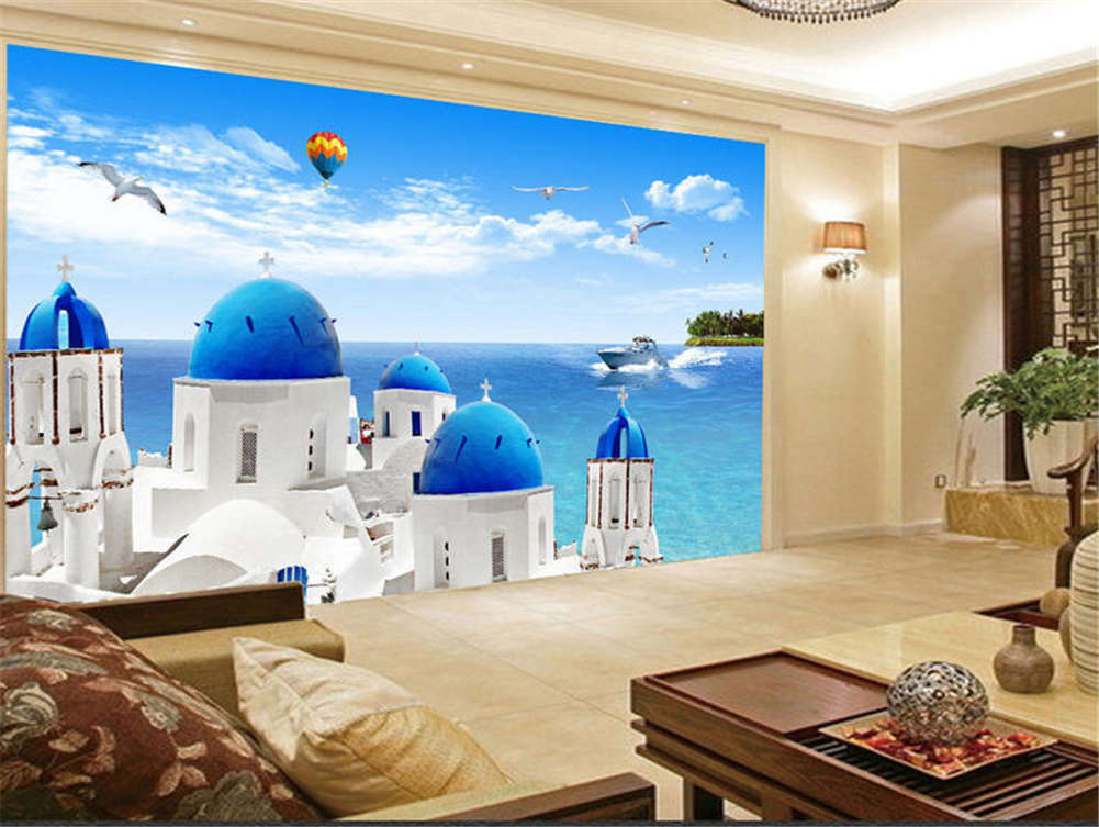 Keen Abundant Castle 3D Full Wall Mural Photo Wallpaper Printing Home Kids Decor