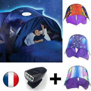 Enfants de playhouse pliables lit tentes d'hiver Sky de LED rêve pop tente
