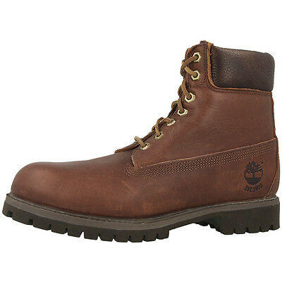 TIMBERLAND 6 INCH PREMIUM ANNIVERSARY BOOTS BROWN 6745R STIEFEL CLASSIC