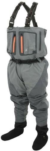 2XL Frogg Toggs Pilot II Breathable Stocking Foot Chest Wader NIB