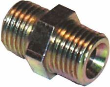 """PCL DOUBLE ADAPTOR MALE THREAD 1/4"""" BSP TO 1/4"""" BSP  QTY 5"""