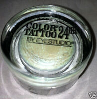 Maybelline Color Tattoo Cream Eyeshadow 20 Waves Of White White/teal Duochrome