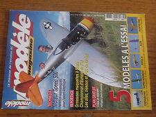 $$v Revue modele magazine RCM N°603 PLan encarte Ti-Gus  Corsair F4U  Alto