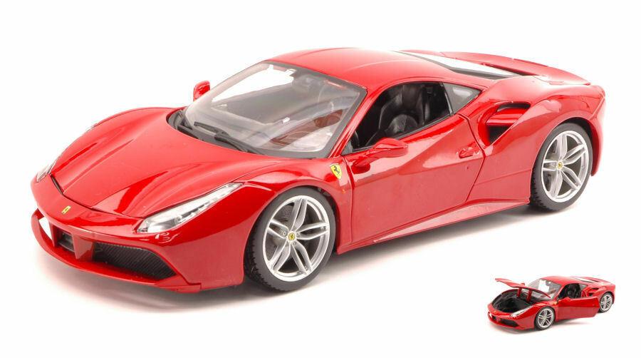 Ferrari 488 GTB 2015 rot 1 18 Burago bu16008r
