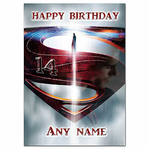 Image Is Loading C061 Large Personalised Birthday Card Custom Made For