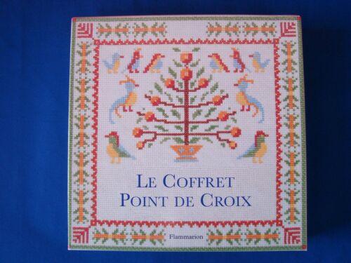 COFFRET POINT DE CROIX DE CHEZ FLAMMARION