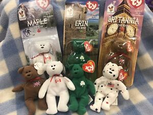 60434942946 Image is loading Britannia-Erin-Maple-Bears-McDonalds-Happy-Meal-TY-