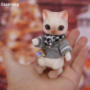 """New 1//12 Resin BJD MSD Lifelike Doll Joint Dolls Girl Gift Cocoriang Tobi 4/"""""""