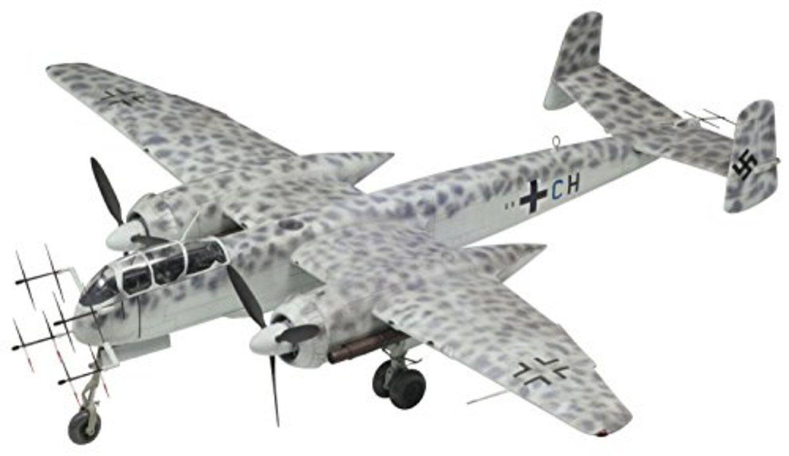 Platz 1 72 He219A-7 Uhu Plástico Modelo AE-1 Envío Gratis W  Tracking Nuevo de
