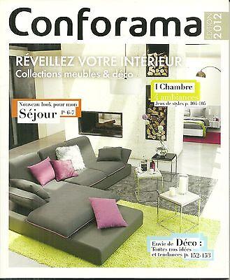 Catalogue Conforama 2012 Decoration Interieure Idee Magazine Publicite Pub Ebay