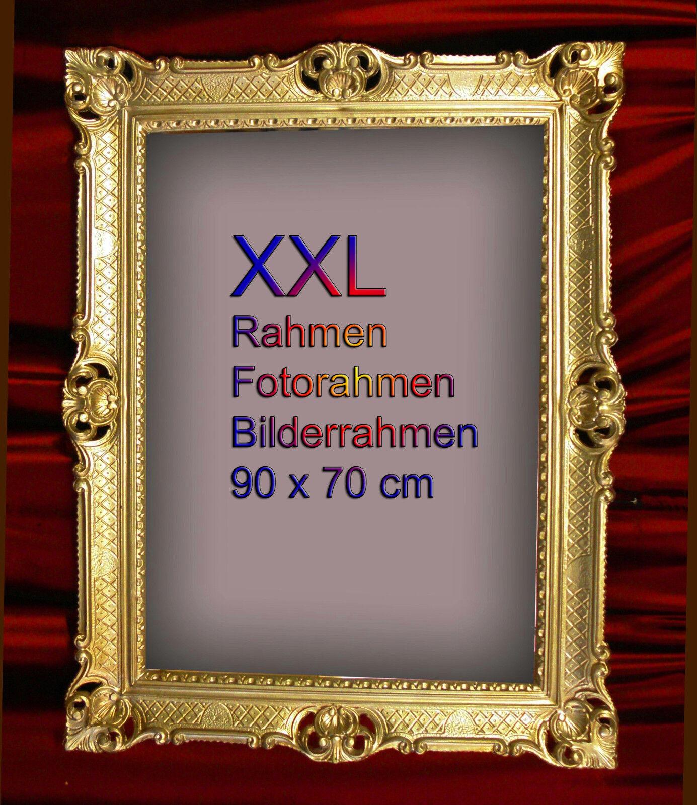 Bilderrahmen 90x70 gold antik barock rahmen rokoko for Couchtisch 90x70