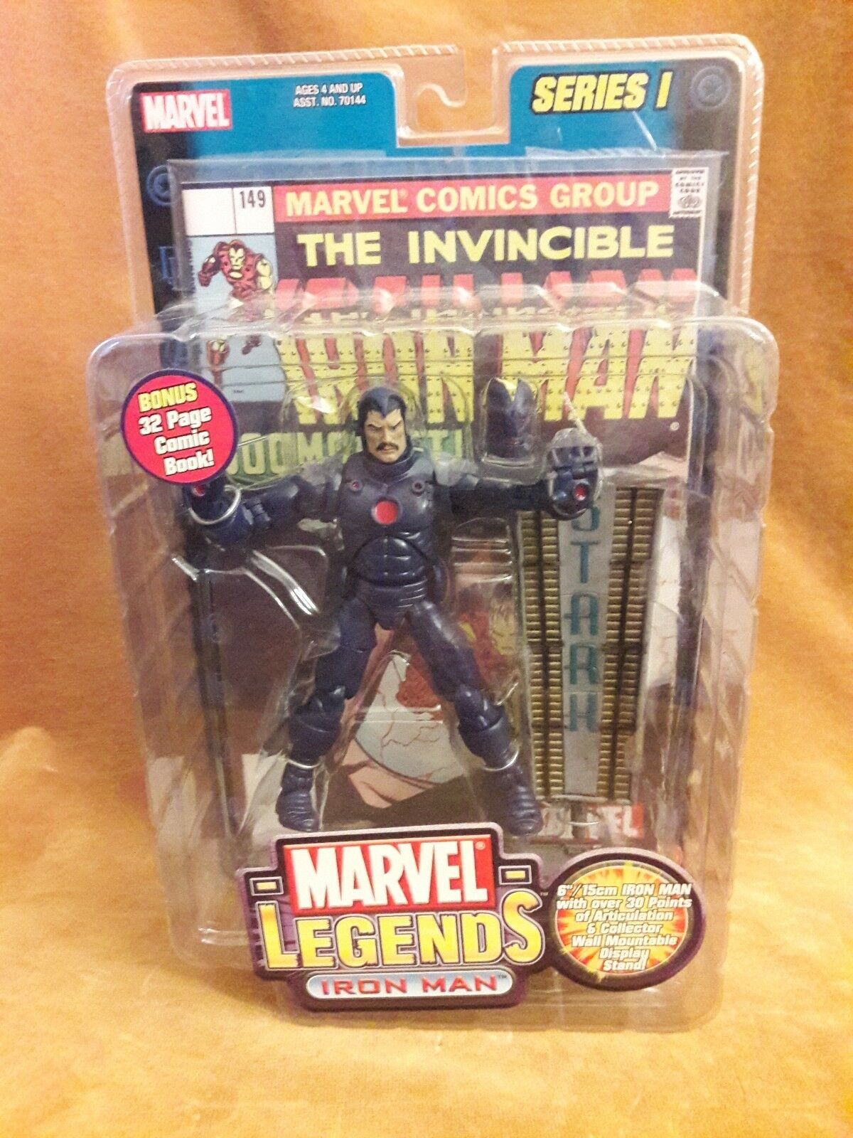 MARVEL LEGENDS  STEALTH ARMOR IRON MAN  VARIANT SERIES I