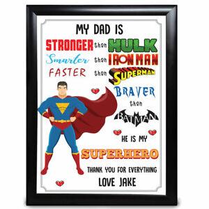 PERSONALISED BATMAN JOKER BIRTHDAY GIFT LOVE PRESENT KEEPSAKE WORD ART