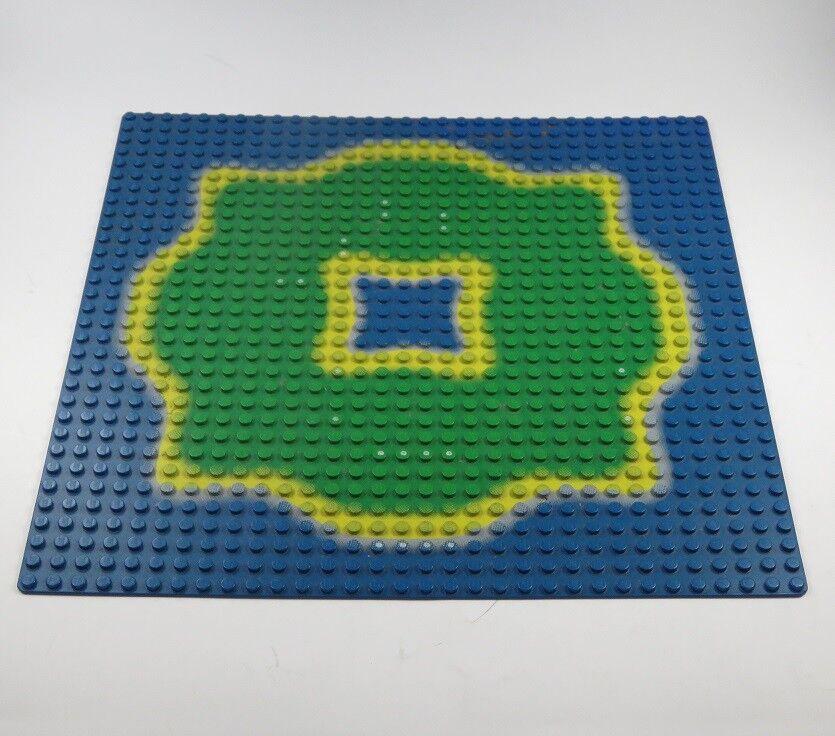 Lego Piastra di Base per Costruzione 32x32 verde Isola Dei Pirati Mari Del Sud