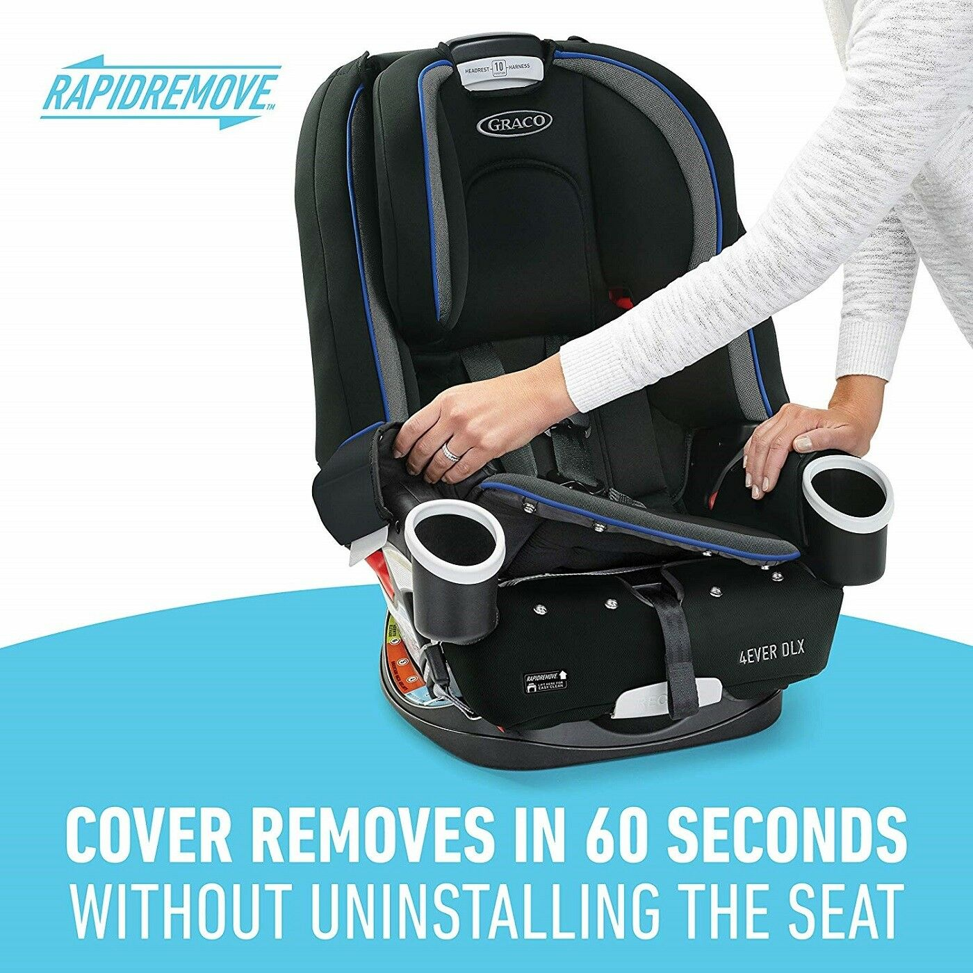Graco Baby 4ever Dlx 4 In 1 Car Seat Infant Child Safety Joslyn Ebay