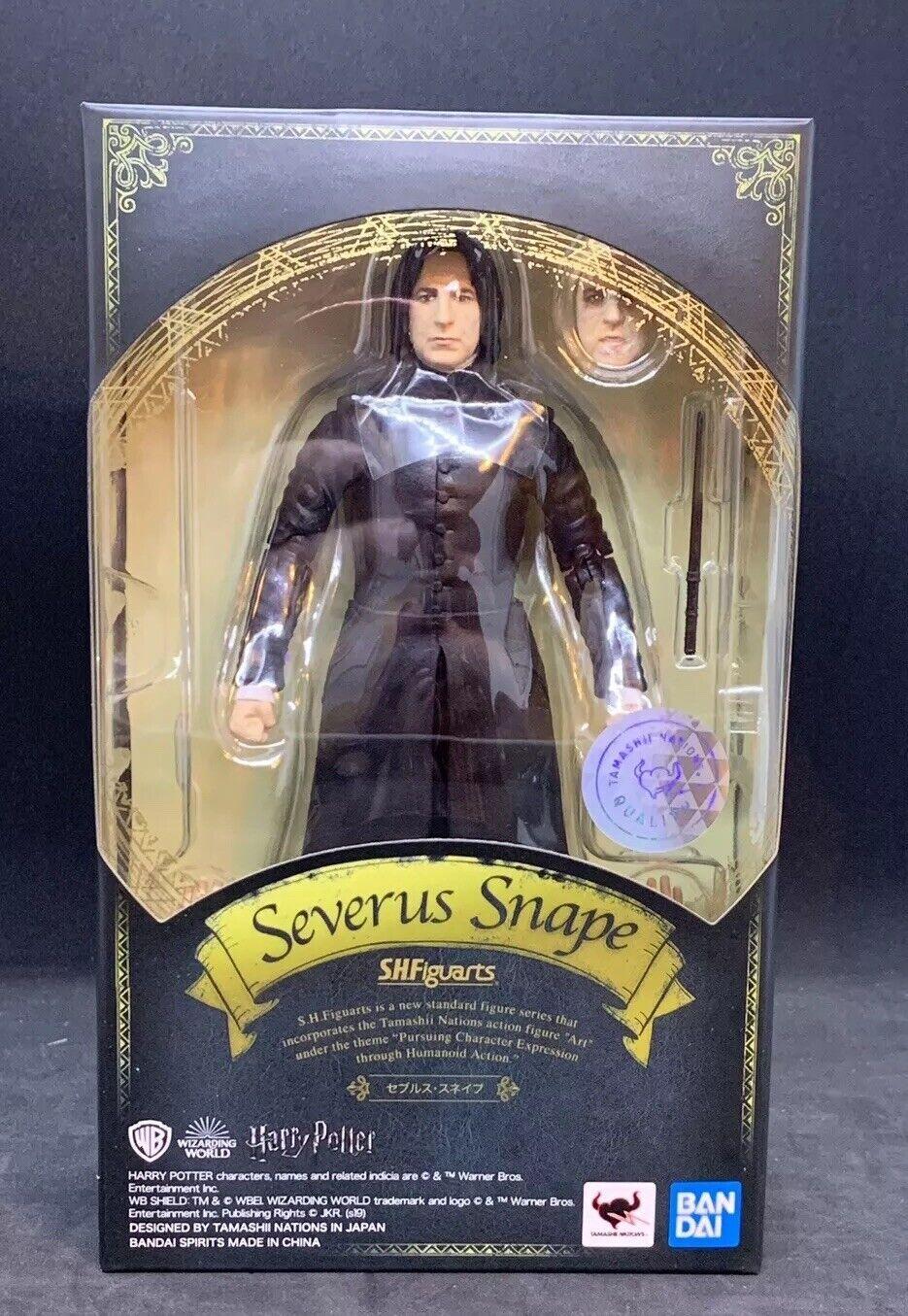 Bandai S.H. Figuarts Harry Potter  severo Snape Figura De Acción