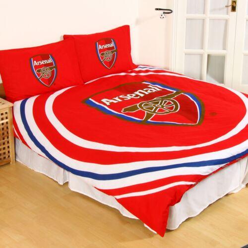 Oficial Arsenal FC Pulso Doble Duvet cover set niños adultos Reversible