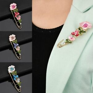 The Cheapest Price Women Rhinestone Red Rose Flower Brooch Pin Wedding Party Jewelry Gift Kindly Jewellery & Watches Costume Jewellery