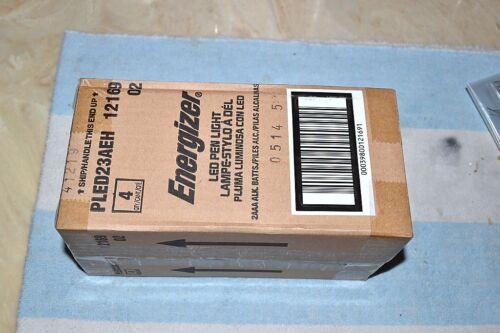 Energizer Pled 23AEH DEL lampe torche lampe de poche torche 2 AAA Sealed Case Of 4