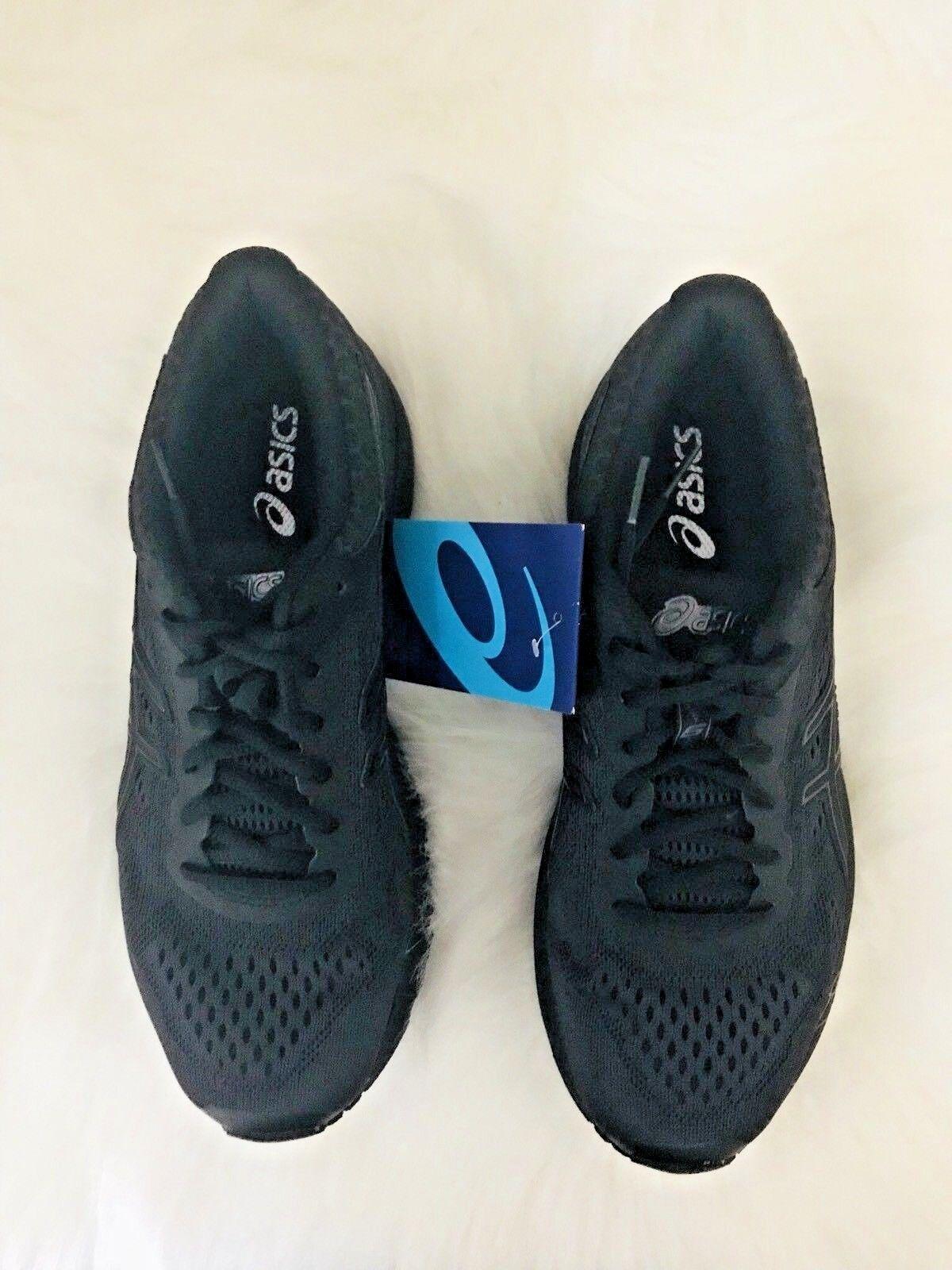 ASICS GT- 1000 6 WOMEN'S RUNNING SHOES BLACK SNEAKERS SZ 9 T7A9N-9090