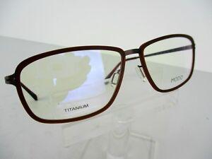 c17ee0e8780 MODO PAPER-THIN TITANIUM Mod.4053 (BWN) Brown 55 x 15 145 Eyeglass ...