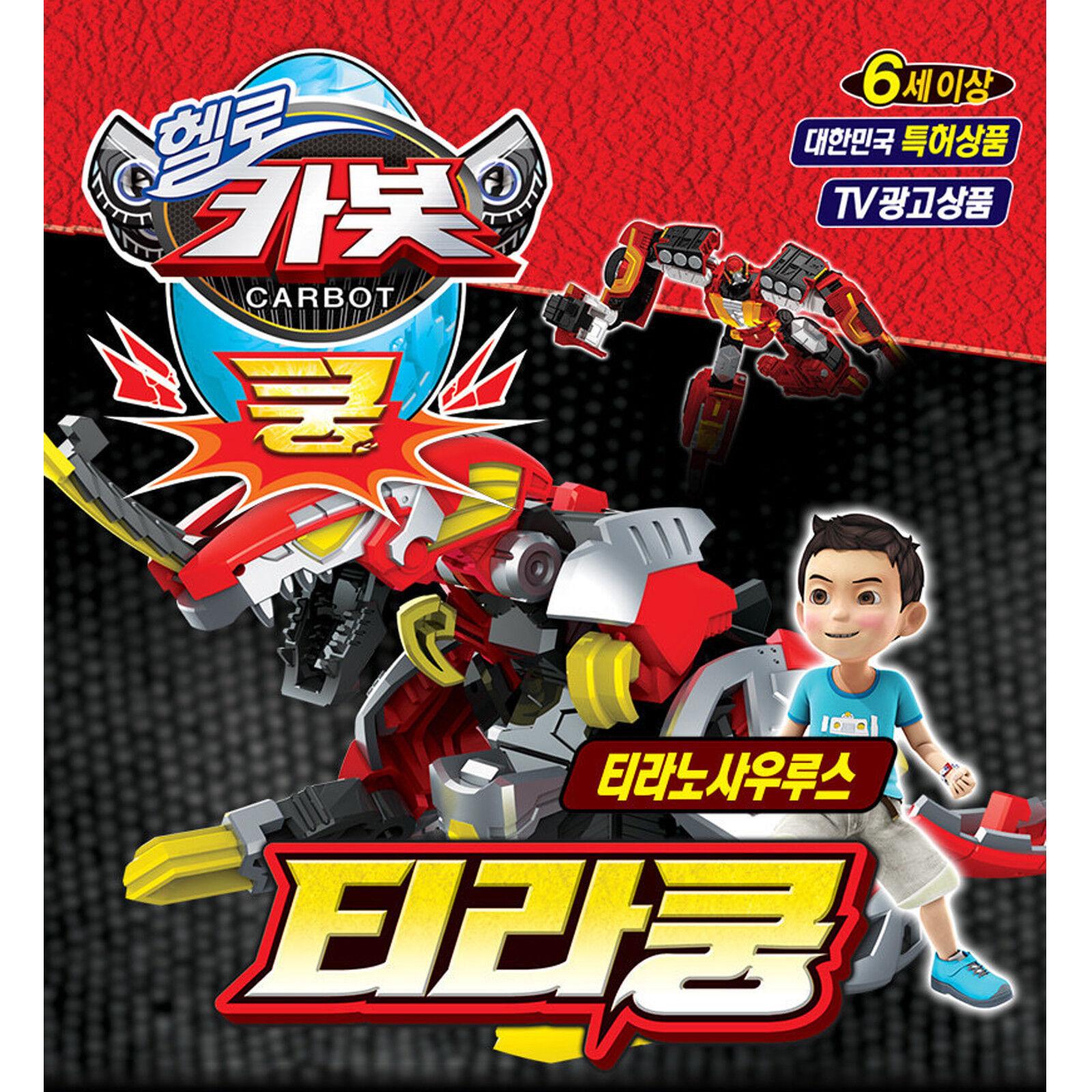 Carbot Tirakoong Transformer Robot Tyrannosaurus) Toy Action Figure (From Egg to Tyrannosaurus) Robot bfe478