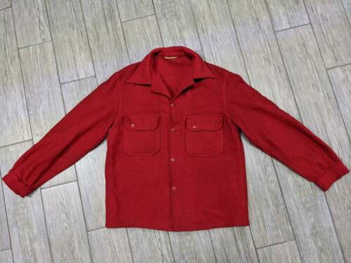 vintage BOY SCOUT official jacket SHIRT-JAC wool 4