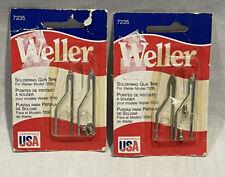 2 Packs New Weller 7235 Soldering Gun Tips Made In Usa
