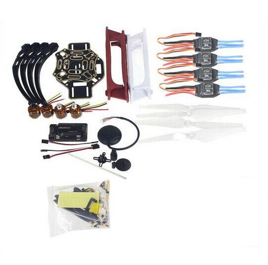 Hágalo usted mismo kit de aviones de Radio Control Teledirigido Quadrocopter F450-V2 Marco GPS APM2.8 control de vuelo