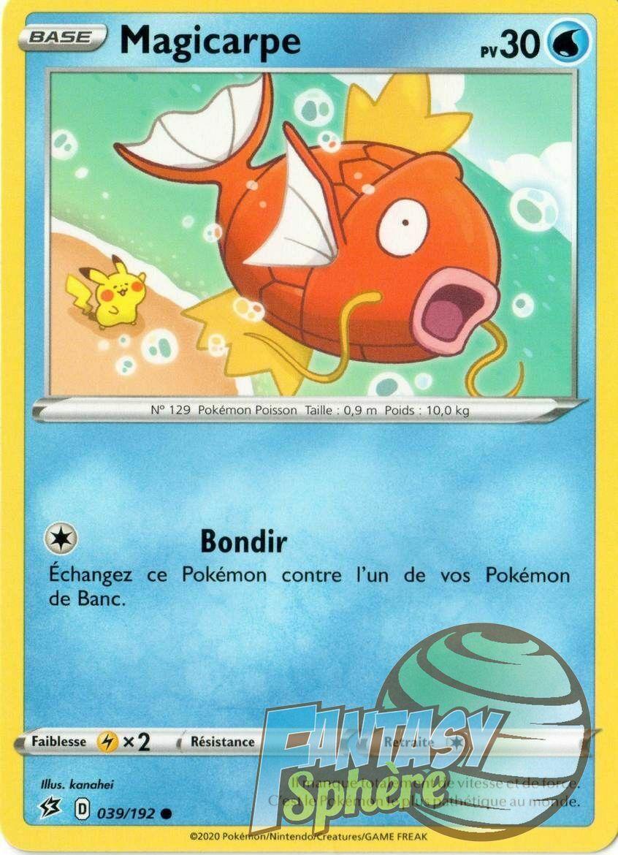 Pokemon 12//189 Effléche lot de 2 peu commune EB03 Epee Bouclier 3  VF Français