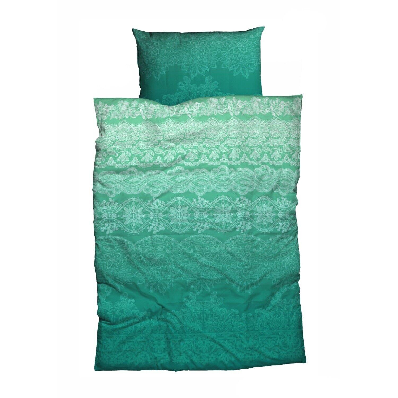 CASATEX Bettwäsche Demir Smaragdgrün Paisley Ornamente orientalisch Renforcé