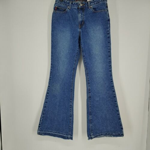 vintage Bongo womens jeans size 7 flared leg low r
