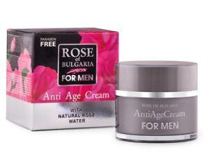 BioFresh-ROSE-OF-BULGARIA-Anti-Age-Cream-Men-Moisturising-amp-Rejuvenating-50ml