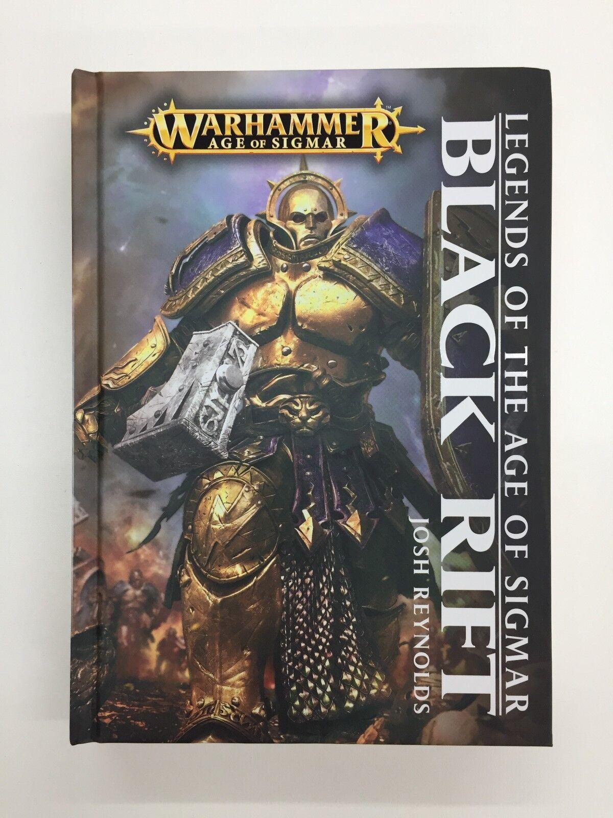 Leyendas de la edad de Sigmar Negro Rift Warhammer Novela Tapa Dura stormcast