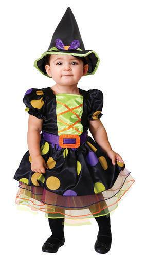 Calderone CUTIE Ragazze Strega Costume Halloween Streghe Bambini Bambini Costume