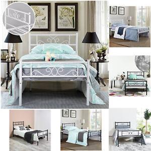 Platform-Bed-Frame-Queen-Twin-Full-Size-Metal-Bed-Mattress-Foundation-Headboard