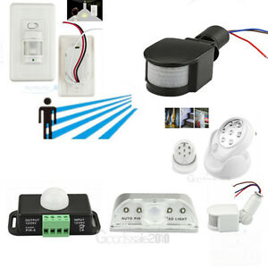 security pir infrared motion sensor detector wall path
